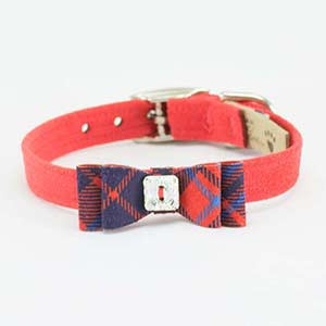 Red Pepper with Red Plaid Big Bow