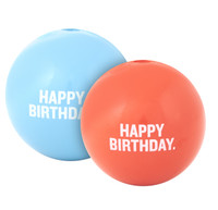 Planet Dog Happy Birthday Orbee-Tuff Chew Ball Toy