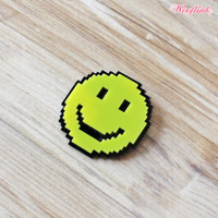 Wooflink Smile Brooch