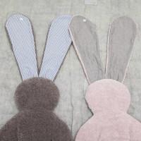 Louisdog Shaggy Shaggy Bunny Mat