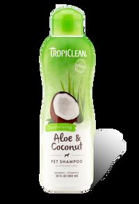 Tropiclean Aloe & Coconut Pet Shampoo