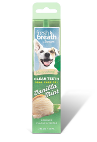 Fresh Breath Clean Teeth Gel Vanilla Mint