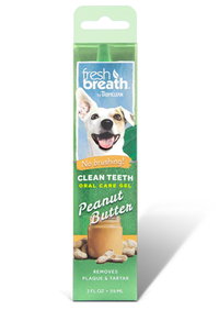 Fresh Breath Clean Teeth Oral Care Gel Peanut Butter