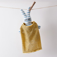 Louisdog Stripe Bang Bang Tee