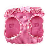 American River Choke Free Harness Polka Dot Collection