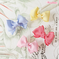 Wooflink Stripe Dolly Bow