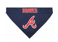 Atlanta Braves Reversible Dog Bandana