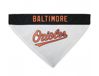 Baltimore Orioles Reversible Dog Bandana