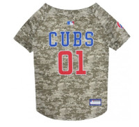 Chicago Cubs Camo Dog Jersey