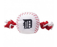 Detroit Tigers Nylon Ball Rope Toy