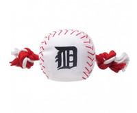 Detroit Tigers Nylon Ball Rope Toy