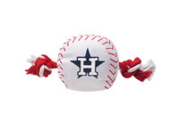 Houston Astros Nylon Ball Rope Toy