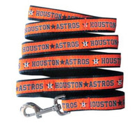 Houston Astros Ribbon Dog Leash