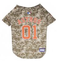 Houston Astros Camo Dog Jersey
