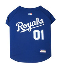Kansas City Royals V-Neck Dog Jersey