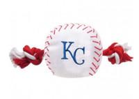 Kansas City Royals Nylon Ball Rope Toy