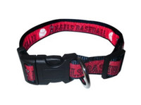Los Angeles Angels Ribbon Dog Collar