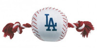 Los Angeles Dodgers Nylon Ball Rope Toy