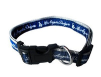 Los Angeles Dodgers Ribbon Dog Collar