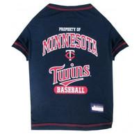 Minnesota Twins Dog T-Shirt