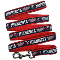 Minnesota Twins Ribbon Dog Leash