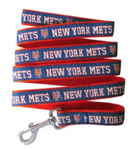 New York Mets Ribbon Dog Leash