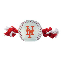 New York Mets Nylon Ball Rope Toy
