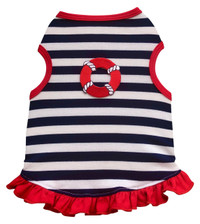Sailor Stripe Tank Dress
