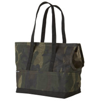 Waxed Canvas Pet Tote - Camouflage