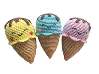 Happy Ice Cream Organic Cotton Toy