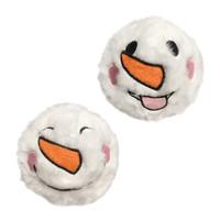 Snowman Fuzzy Ball Spiker Toy