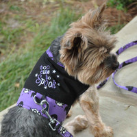 Too Cute to Spook Halloween Dog Harness