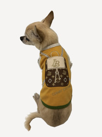 Chewy Vuiton Bronze Backpack Tank