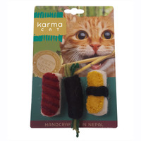 Assorted Felt Sushi Toys - 3 Pack