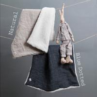 Louisdog Irish Linen Blanket