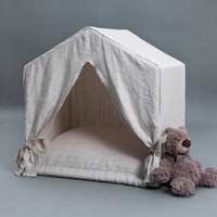Louisdog Peekaboo Irish Linen House