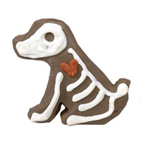 Skelledog Halloween Cookie
