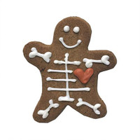 Skellington Halloween Cookie