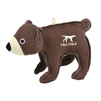 Canvas Bear Toy with Squeaker