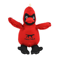 Canvas Cardinal Toy with Squeaker