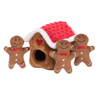 Holiday Zippy Burrow - Gingerbread House