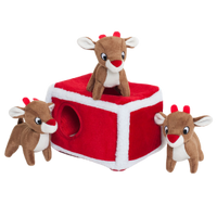 Holiday Zippy Burrow - Reindeer Pen