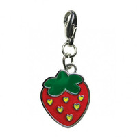 Love for Strawberry Enamel Charm