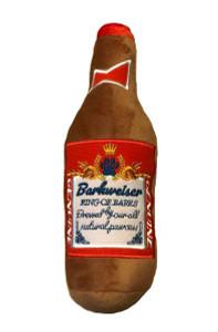 Barkweiser Beer Bottle Dog Toy