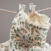 Louisdog Botanical Romper