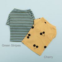 Louisdog Tee n Sleeveless Set