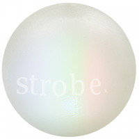 Planet Dog Orbee-Tuff Strobe Ball Toy