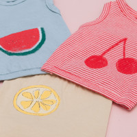 Louisdog Fruits Sleeveless Tee