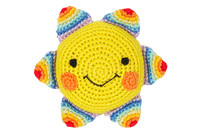 Rainbow Sunshine Organic Cotton Toy