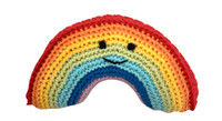 Smiley Rainbow Organic Cotton Toy